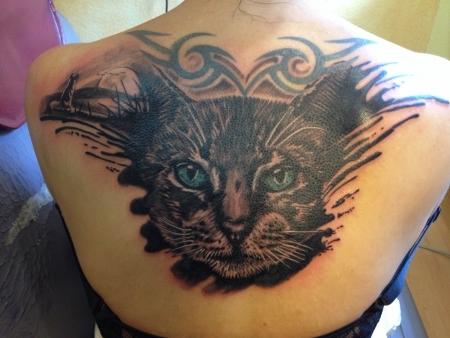 Denkmal für meine Katzen!