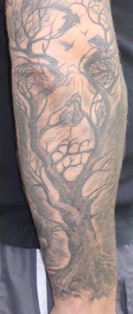 andy1172 fullsleeve mit klassischen motiven arm tattoos. Black Bedroom Furniture Sets. Home Design Ideas