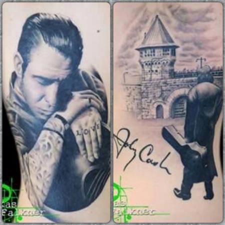Mike Ness und Johnny Cash