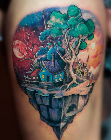 Island by Malan Tattoo Neuwied