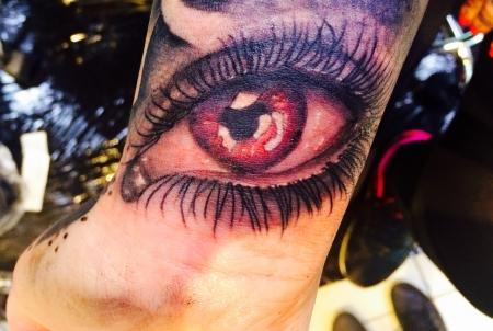 Vampir Auge :)