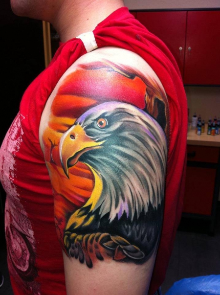 Tattoo done by our guest  Bartosz Zielak Zieliński