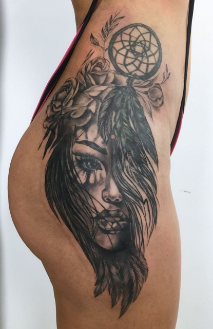 Teil Cover-Up Realism