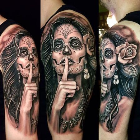 catrina-Tattoo: La Catrina - Dia de los Muertos