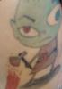 Comic Figur Alien