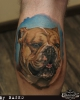 Dog Portrait - Godfather's Tattoo Nürnberg By NASKO