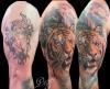 Oberarm Cover Up Tiger
