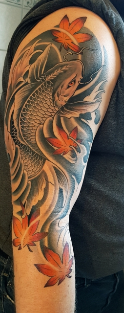 Japan Koi sleeve