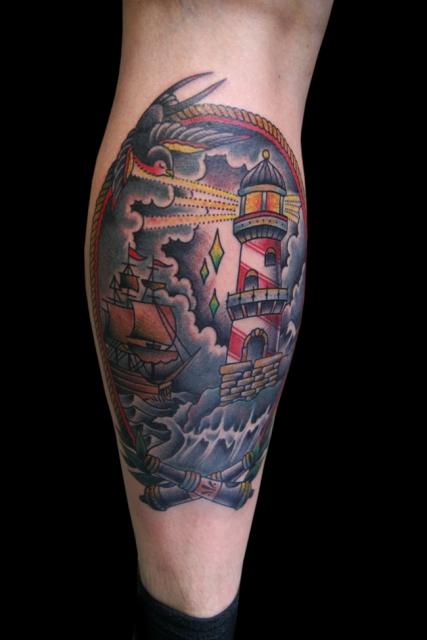 schwalbe-Tattoo: Ein Sturm zieht auf