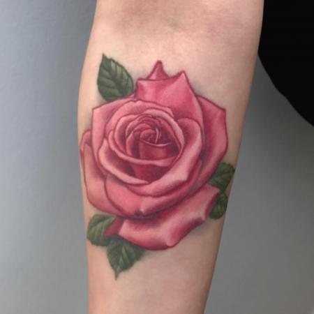 Rose - 4 Jahre verheilt