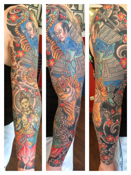 japan-Tattoo: Japan sleeve
