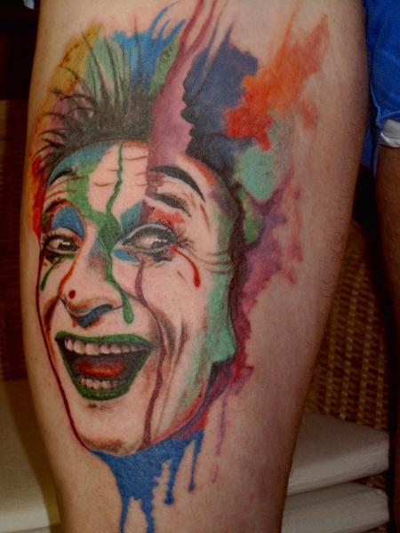 Clown (Portrait Marcel Marceau)