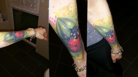 Marienkäfer Cover up Ladybug