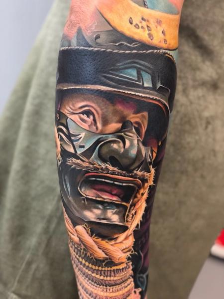 samurai-Tattoo: Samurai Nakata Edo Neuss