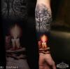 Kerze mit Käfig - Godfather's Tattoo - By ZORBAS