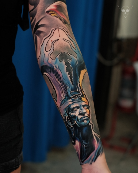 Surreal Sleeve / done in 3 days - Teil 2