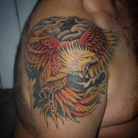 phönix-Tattoo: Phoenix