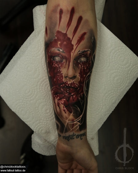 Bloody Face #1