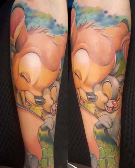 disney-Tattoo: bambi