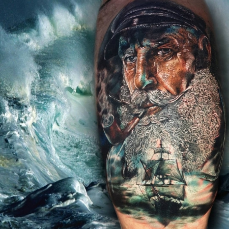 Bearded Sailor Cover Up