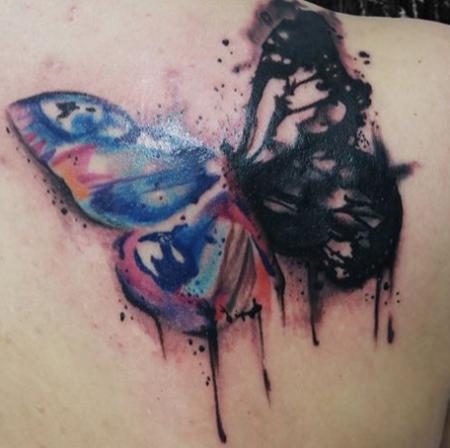 Coverup Schmetterling