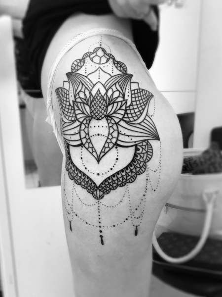 Ornament Mandala Tattoo