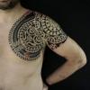 Maori Brust - gestochen von Dmitri  Babakhin