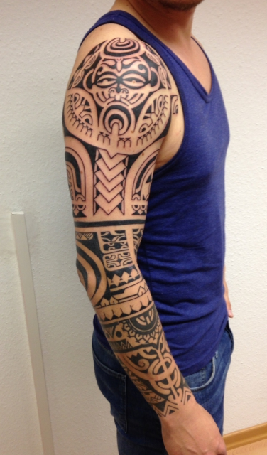 Arm Sleeve Polynesian