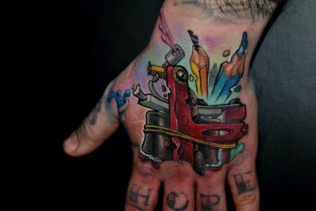 Tattoomaschine mal etwas anders