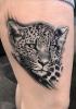 Leopard für den Oberschenkel
