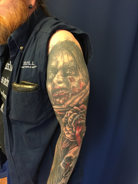 cover up zweiter Arm