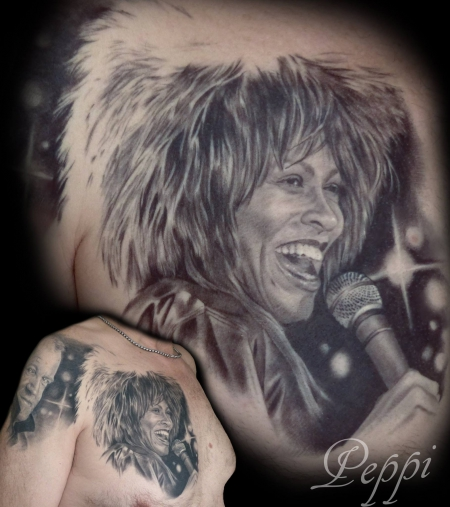 Tina Turner (und Joe Cocker)