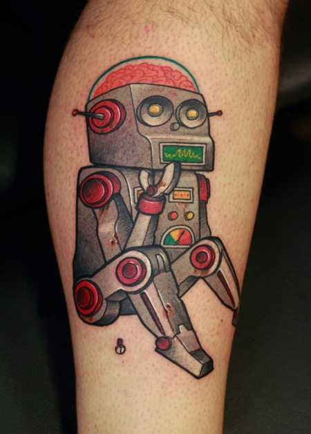 Roboter Legsleeve