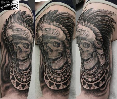 Aztek Skull