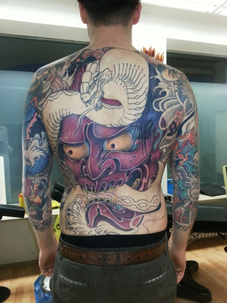 schleife-Tattoo: Backpiece update 3.0