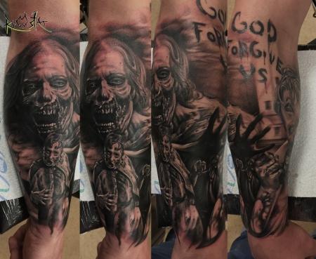 Walking Dead Sleeve Part 2