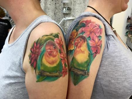 Lovebirds - Partnertattoo - Fortsetzung