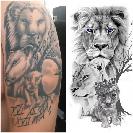 Misslungenes Tattoo