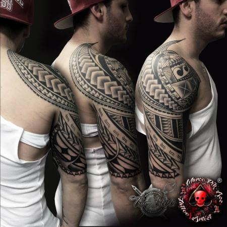 Maori-Fantasy / Freihand