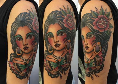 tattoo by DANO