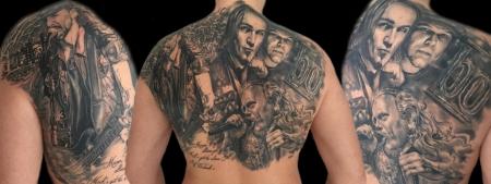 drachen-Tattoo: Onkelz