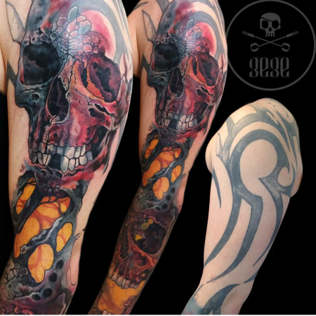 Cover up by Gege Boristattoo