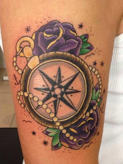 Oldschool Kompass