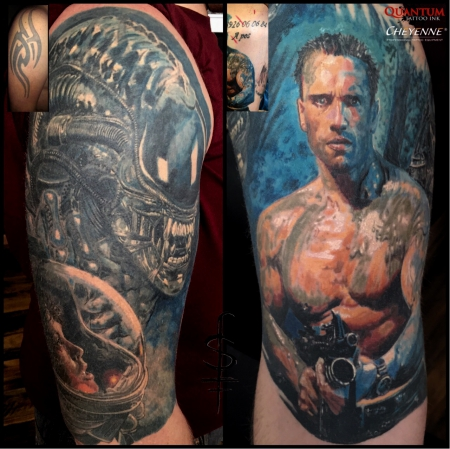 Alien/Predator Cover up