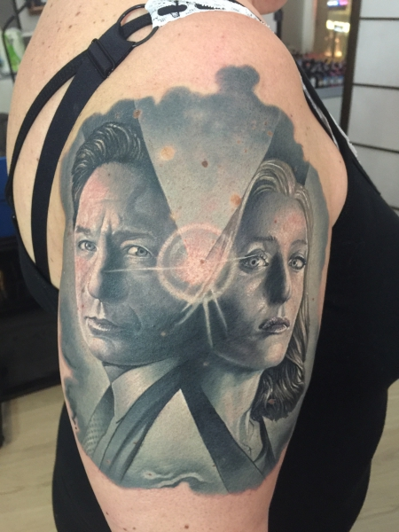 Mulder and scully x files