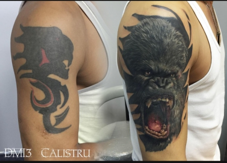 Von Dmitri Calistru Tattoo Kompass Hamburg