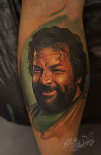 Bud Spencer Tattoo