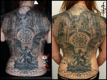 Gargoyle Backpiece