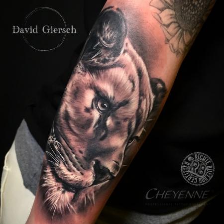 tiger-Tattoo: Little Tiger