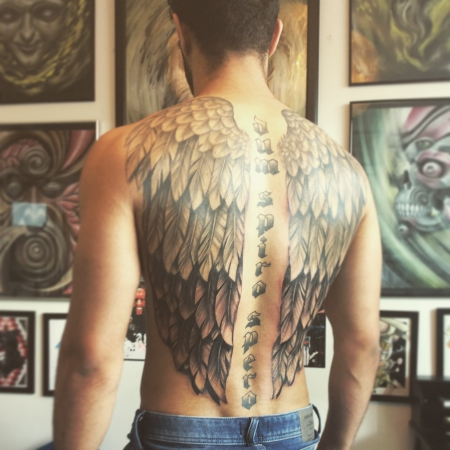 flügel-Tattoo: Wings